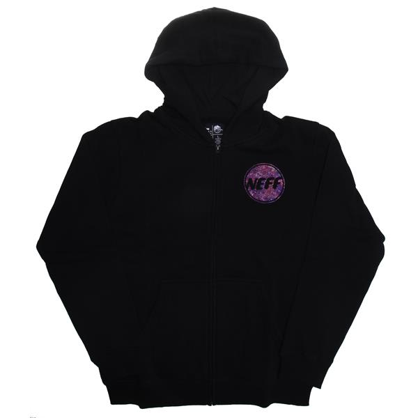 Neff Color Grime Zip Fleece Hoodie