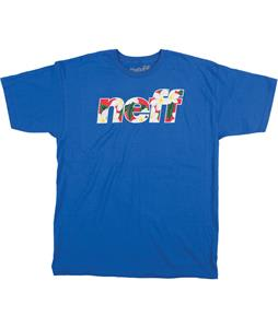 Neff Corpi Filled T-Shirt Royal