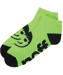 Neff Corpo Ankle Socks Neon Yellow/ Black