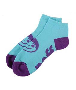 Neff Corpo Ankle Socks Teal