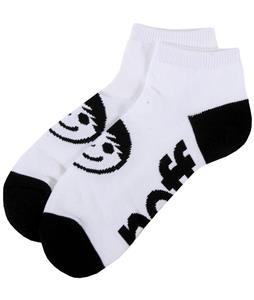 Neff Corpo Ankle Socks White/Black