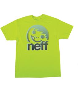 Neff Corpo Blur T-Shirt Neon Green