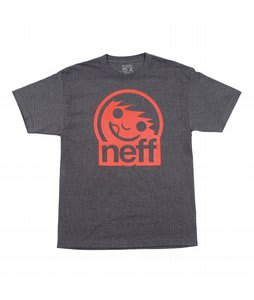 Neff Corpo 2 T-Shirt Charcoal Heather