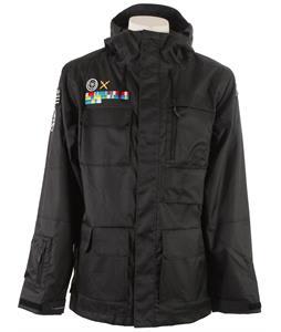 Neff Corporal Snowboard Jacket Black