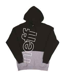 Neff Corporate 2 Pullover Hoodie Black/Athletic Heather