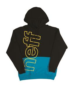 Neff Corporate 2 Pullover Hoodie Black/Cyan