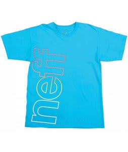 Neff Corporate Fade T-Shirt Turquoise