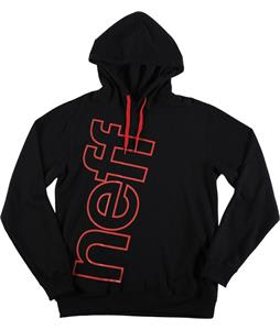 Neff Corporate Hoodie Black/Red