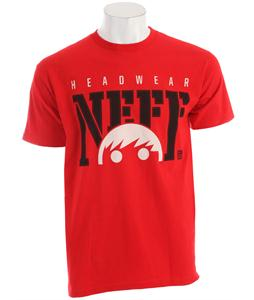 Neff Court T-Shirt Red