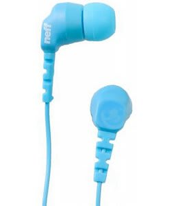 Neff Daily Bud Ear Buds Cyan