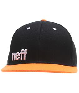 Neff Daily Cap Black/Orange