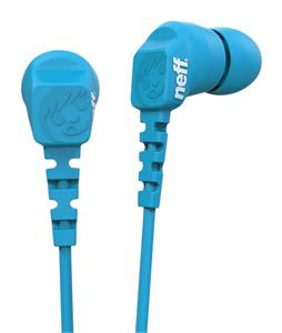 Neff Daily Earbuds Cyan