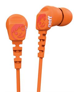 Neff Daily Earbuds Orange