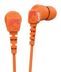 Neff Daily Earbuds Orange