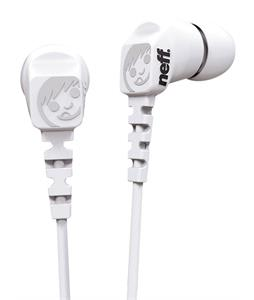 Neff Daily Earbuds White