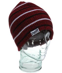 Neff Daily Multistripe Beanie Red Heather
