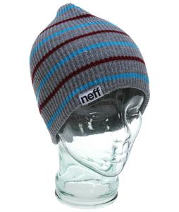 Neff Daily Multistripe Beanie Grey Heather
