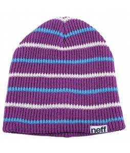 Neff Daily Multistripe Beanie Purple