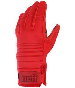 Neff Daily Pipe Gloves Red