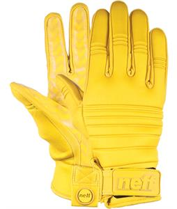 Neff Daily Pipe Gloves Yellow