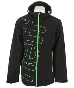 Neff Daily Softshell Jacket Black/Slime