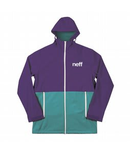 Neff Daily Softshell Jacket Purple/Teal
