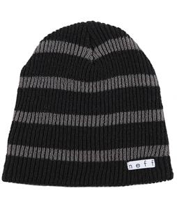 Neff Daily Stripe Beanie Black/Charcoal