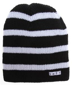 Neff Daily Stripe Beanie Black/White