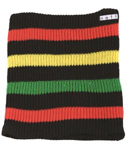 Neff Daily Stripe Neck Gaiter Black/Rasta