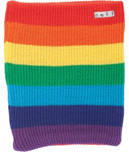Neff Daily Stripe Neck Gaiter Rainbow