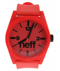 Neff Daily Watch Red