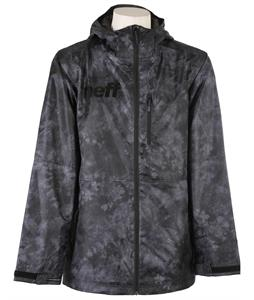 Neff Daily 2 Snowboard Jacket Black Crystal