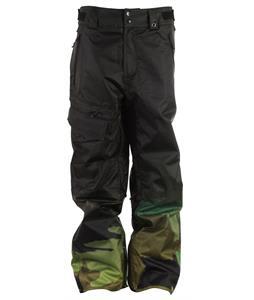 Neff Daily 2 Snowboard Pants Camo Fade