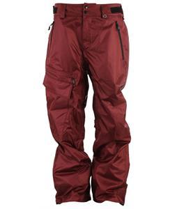 Neff Daily 2 Snowboard Pants Maroon