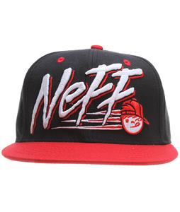Neff Dash Cap Black/Red