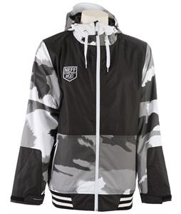 Neff Destroyer 2 Snowboard Jacket Splamo Grey