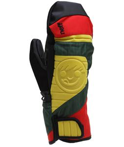 Neff Digger Mittens Rasta
