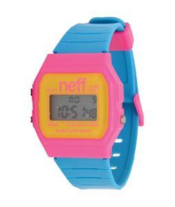 Neff Flava Watch Pink/Cyan
