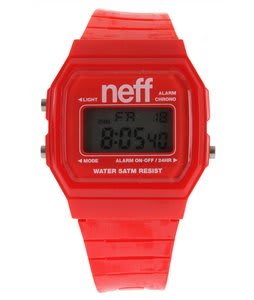 Neff Flava Watch Red