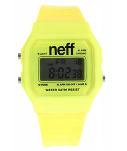 Neff Flava Watch Yellow