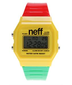 Neff Flava Watch Rasta