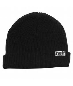 Neff Fold Beanie Black