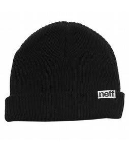 Neff Fold Beanie Black
