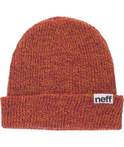 Neff Fold Heather Beanie Orange/Raspberry