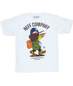 Neff Fresh Walkin T-Shirt White