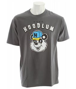 Neff Hoodlum T-Shirt Charcoal
