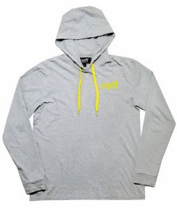 Neff Hood Tee Hoodie Athletic Heather