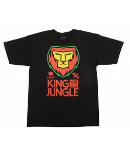 Neff King T-Shirt Black