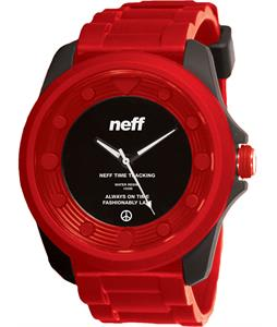 Neff Knoxx Watch Black/Red