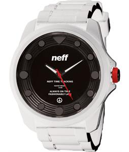 Neff Knoxx Watch White